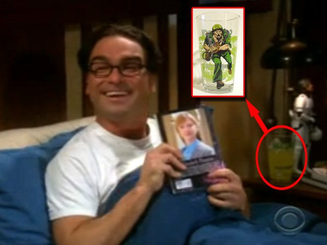39 toon tumbler sightings for Decoracion piso big bang theory